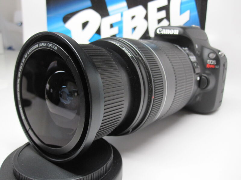 Ultra Wide Angle Macro Fisheye Lens for Canon Eos Digital Rebel 28-135 IS USM