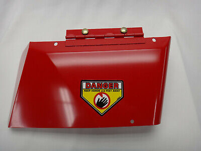 Snapper OEM #26831 Metal Discharge Chute - Snapper Red