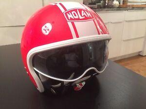 Casque moto Nolan édition rare