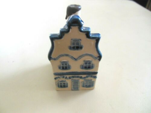 Very Rare KLM Delft House #1 w/Both KLM & Rynbende Paper Labels Sealed w/Liquid