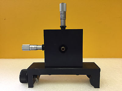 U.s Laser 1020 2 Axis Intracavity Xy Micrometer Adjustable Spatial Filter Assy