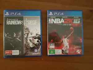 Rainbow Six Siege & NBA2K16 For Sale Adelaide CBD Adelaide City Preview