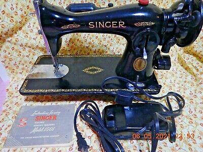 Vintage1952 Singer 15-91 Sewing Machine Direct Drive AK847176