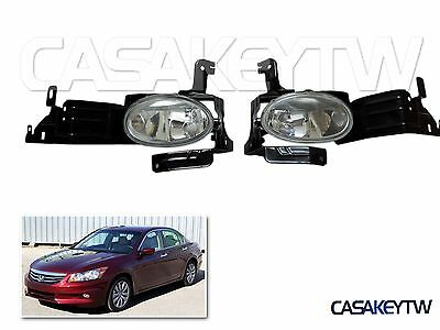 Assembly Fog Lights OE Replacement Driving Lamp Pair For Honda 2011 2012 -