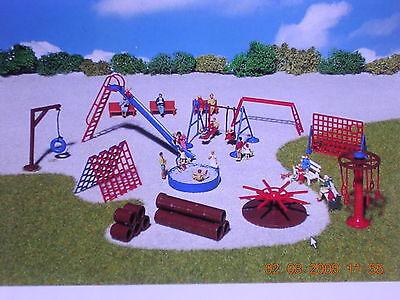 Faller H0 180576 Spielplatzgeräte für Park und Garten Bausatz NEU