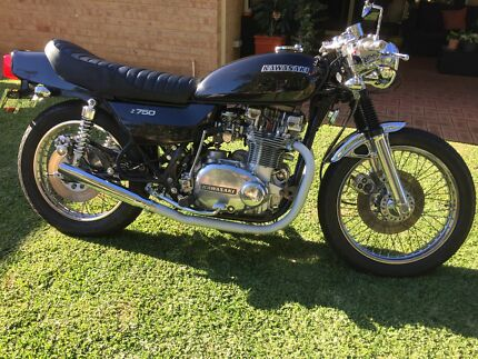 Kawasaki 1978 KZ750 (Z750) Twin Beckenham Gosnells Area Preview