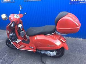 VESPA SCOOTER GTV 250 ie 2005 WRECK OR RESTORE St Agnes Tea Tree Gully Area Preview