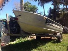3.7mtr trimcraft with motor and trailer Slade Point Mackay City Preview