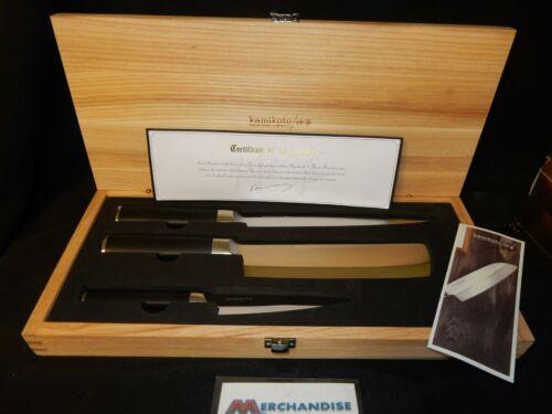 Kamikoto Kanepki Knife Set W/ Certificate Of Authenticity (NEW)