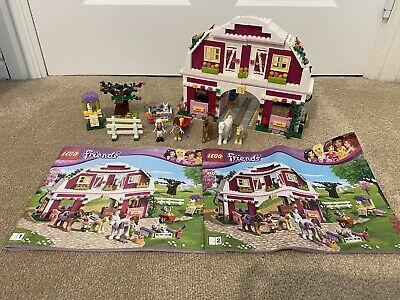 LEGO Friends Sunshine Ranch (41039). 99% complete with instructions.