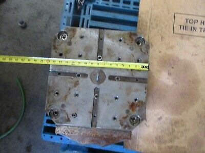 Mori Seiki Mh-40 Cnc Horizontal Mill Work Table Pallet Tombstone