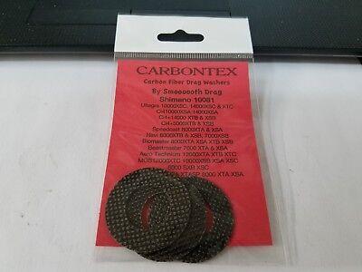 400BSV  CD54 400S Smoothdrag Carbon Drag set fits  Calcutta 400 400B