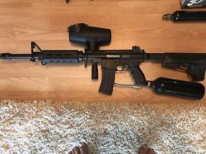 Tippmann A5 paintball gun (sold)