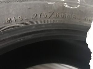 Goodyear tires fortitude HT  275/65/18