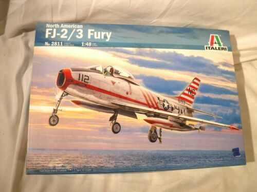 1/48 Italeri North American USN & USMC FJ 2/3 Fury Jet Fighter # 2811