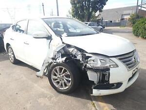 Wrecking 2013 Nissan Pulsar Keilor East Moonee Valley Preview