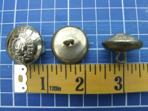 Reproduction Victorian British Army QVC Royal Engineers Button Brass 24mm new