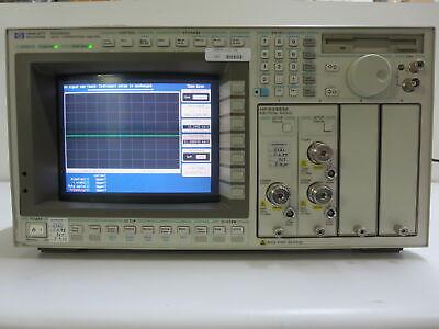 HP 83480A DIGITAL COMMUNICATIONS ANALYZER