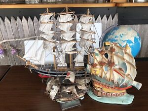 Vintage Sail Boat Collection of 3