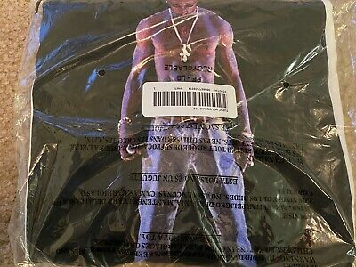 Supreme Tupac Hologram tee White L Large SS20 In Hand
