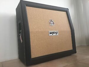 ORIGINAL Full Size - Orange PPC412 (Rare Black Tolex/Slanted Cab) Figtree Wollongong Area Preview