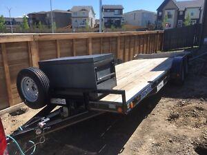 Load Trail 20 foot tandem axle trailer