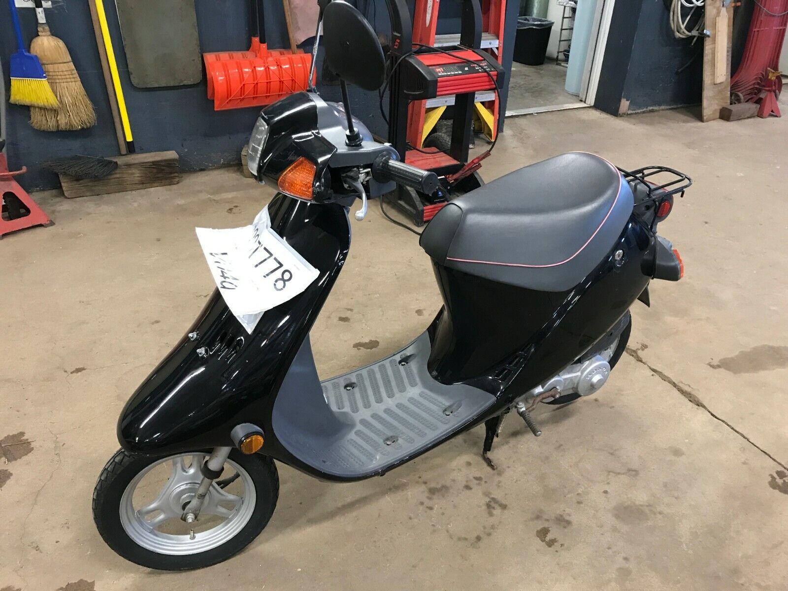 1989 Honda SB50 Moped   T1297778