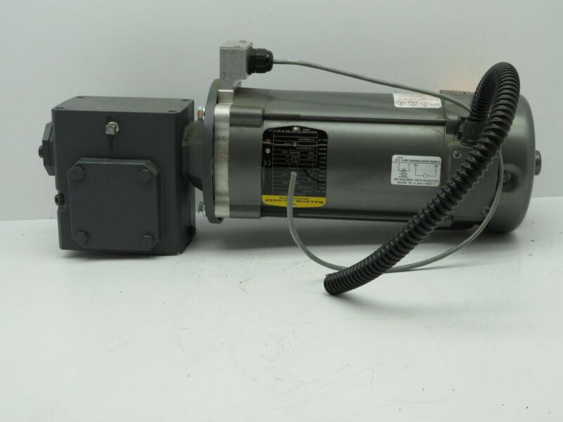 Baldor CDP3455 DC Motor 1 Hp 1750 RPM Morse 30:1 Gear Drive XE1107 206Q56R30