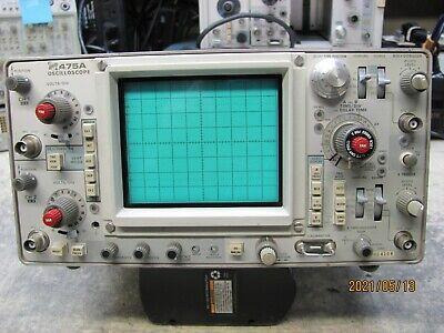 Tektronix 475a 200mhz2 Channel Oscilloscope