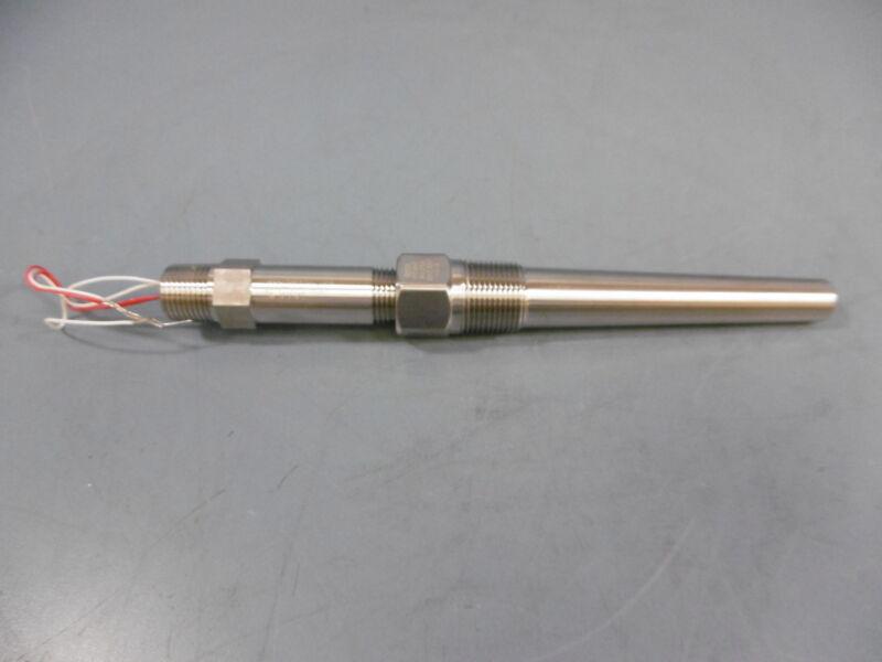 Rosemount 68N21N00A045T26 Resistance Temp Sensor Stainless Steel