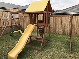 Kids outdoor climbing frame Rouse Hill The Hills District Preview