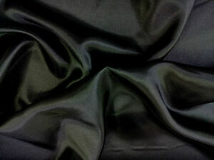 SILKY SATIN FABRIC per1 METRE Plain Dress & Craft Material 150cm Wide 28 colours