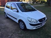 HYUNDAI GETZ 2010 manual rego/rwc Burpengary Caboolture Area Preview