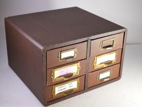 Barnett Jaffe Baja case 3D stereo slide storage 6 drawers NO SLIDES - HR2