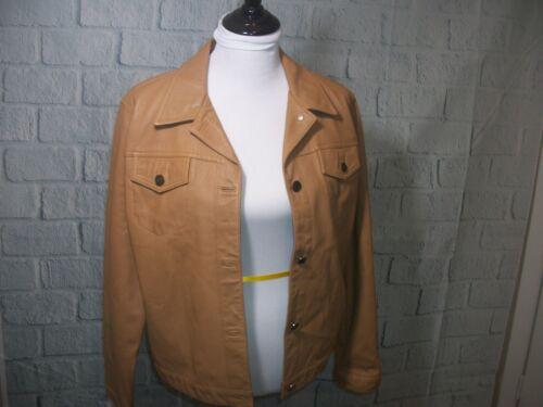 LEATHER JACKET - VINTAGE 100 Percent Leather.