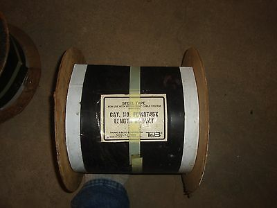 Thomas Betts Versa-trak Power Cable 9 Width 55 Ft Length New Free Shipping