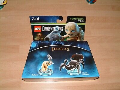 GOLLUM LORD OF THE RINGS  FUN PACK LEGO DIMENSIONS XBOX ONE 360 PS3 PS4 WII