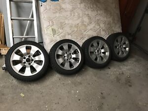 """17"""" mags bmw with tires"""