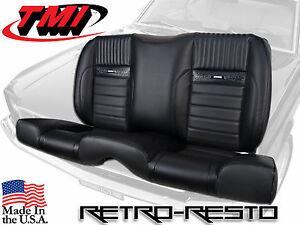1964 1965 1966 Mustang Pony Sport Ii Rear Seat W Foam Upholstery Kit