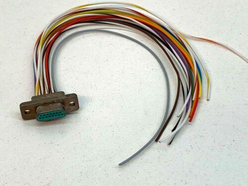ITT Canon 8632 Micro D Sub 15-Pin