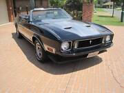 MUSTANG MACH1 CONVERTIBLE 1973 Parkinson Brisbane South West Preview