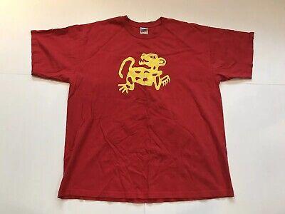 Nickelodeon Legends of The Hidden Temple Red Jaguars T-Shirt Mens XL Retro - Legends Of The Hidden Temple Shirts