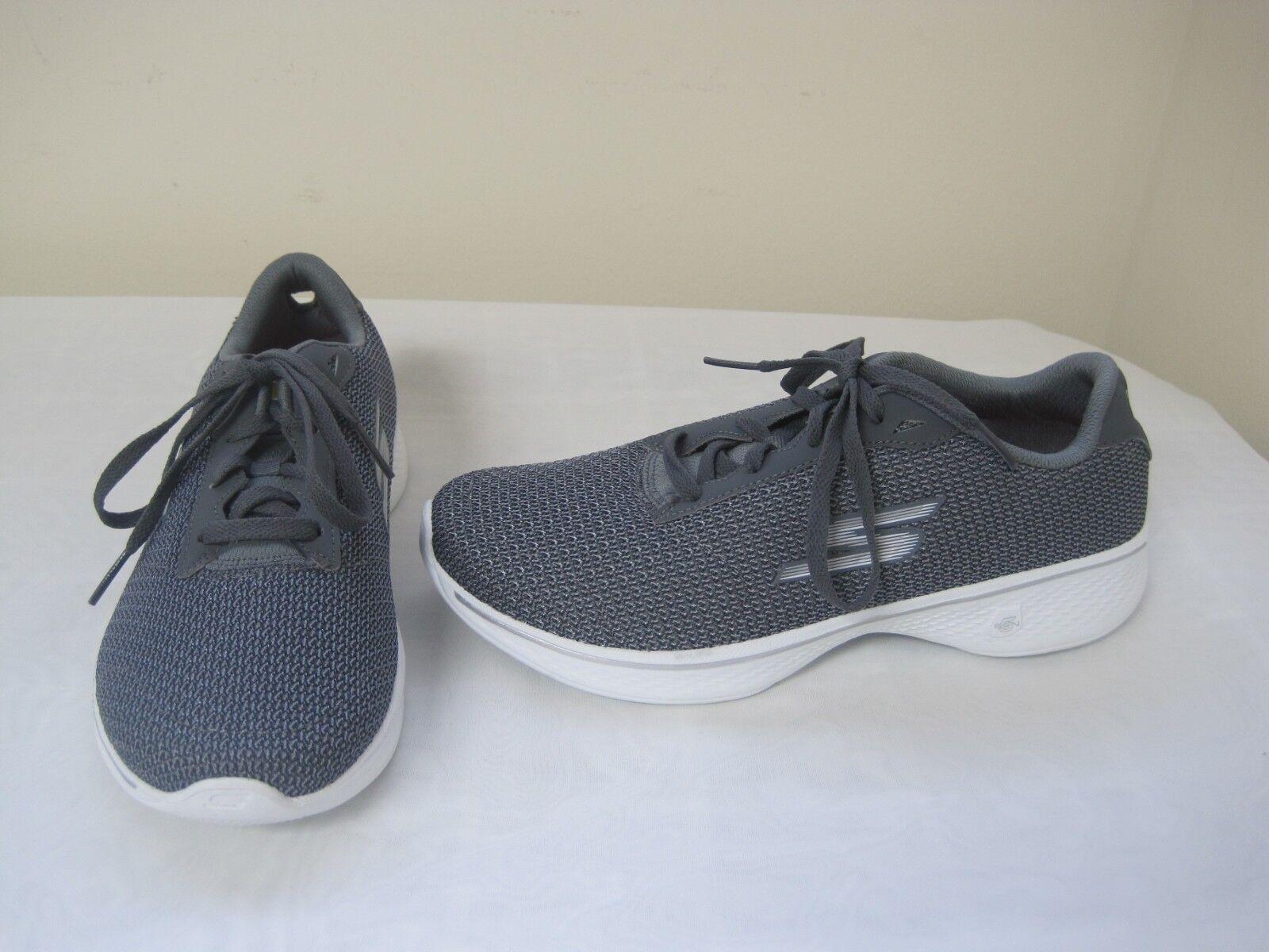 Details zu New Women's Skechers Go Walk 4 Glorify Athletic Walking Shoe 14175 Grey ssc 51E