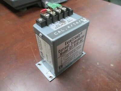 Scientific Columbus Exceltronic Current Transducer Ct-510-a4 Used