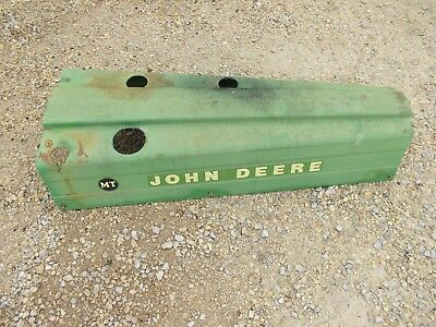 John Deere Mt Tractor Jd Engine Motor Hood Cover