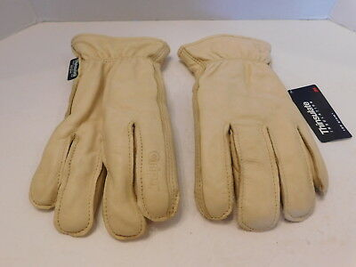 Wells Lamont Premium Cowhide Leather Work Gloves 1 Pairs Size Medium