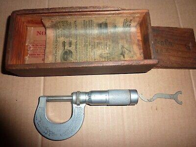 Brown And Sharpe Vintage Anvil 13 Micrometer