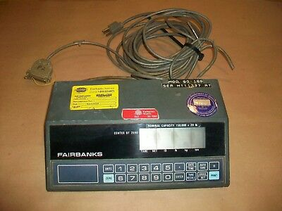 Fairbanks Digital Scale Head 90-166