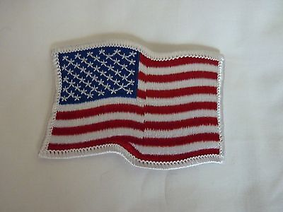 American Flag Patch Waving