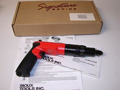 New Sioux Tools Pneumatic Air Clinch Nut Driver 1200rpm 145 Ftlb Scn12rm610f